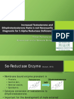 Increased Testosterone and Dihydrotestosterone Ratio