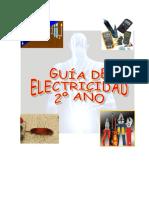 Portada de Guía electricidad 2° año 2016