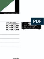 Icom IC-970AEH Instruction Manual
