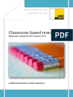 Classroom Based Research