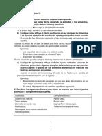 demanda, oferta y elasticidad. cuestionario de economía.
