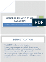 Basic Principles of Tax