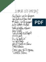 La Poesía de Violeta Parra, Paula Miranda