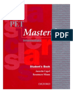PET Master Class SB