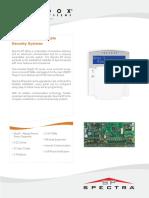 Paradox Spectra-SP-ET03 Technical Brochure