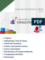Perfil Das Empresas de Consultoria No Brasil 2015