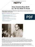 Netaji Subhas Chandra Bose Birth Anniversary_ All You Need to Know