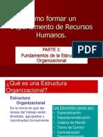 La Organizacion y Su Estructura
