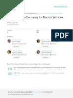2014ATZ Electric Torque Vectoring for Electric Vehicles