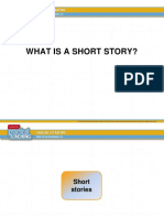 4 2 Presentation of an Introductory Lesson on What is a Short Story
