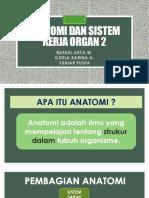 ACARA 4 Anatomi Dan Sistem Kerja Organ 2 Asistensi