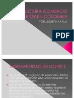 Estructura Comercio Exterior en Colombia