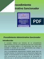 Proc. Admin. Sancionador - Casos y Conclusiones