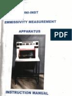 Emmissivity Measurement Practical Heat Transfer