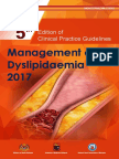 CPG Management of Dyslipidaemia 2017 (5th Edition)