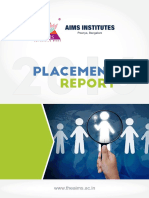 Placement Report 2016