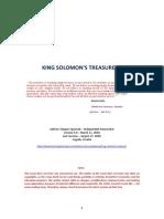 King Solomon's Treasure - Version 5.0