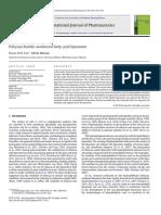 Polysaccharide Anchored
