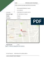 Area Logística Empresa Carmilos