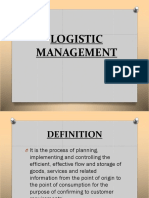 Logistics Powerpoint Ppt