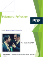 Polymers - Refresher