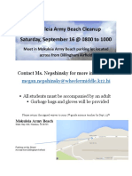 liability waiver - beach cleanup - child  2   1