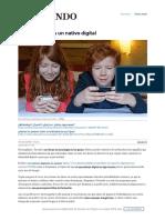 No Tu Hijo No Es Un Nativo Digital Sociedad Home EL MUNDO