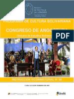 Instruccion Congreso de Angostura