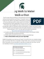 a long walk to water walk-a-thon  1