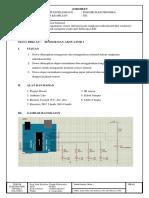 10. Jobsheet Sensor IR Untuk Kontrol 4 LED