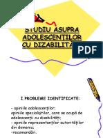 Studiu Asupra Adolescen_ilor Cu Dizabilit__i