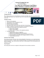 PGT003 Leaf Filter Training