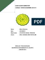 UAS Statistik