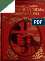 Blasco Ibáñez - Historia 1ª Guerra mundial T09.pdf