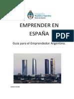 GUÍA PARA EL EMPRENDEDOR ARGENTINO EN ESPAÑA