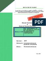 m04 Instruments Et Appreils Topographiques Btp-tsgt