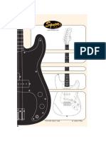 Squier Strat Pack and Bass Pack Owners Manual