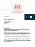 2018 7 3 Lord Hain letter to L Owens NCA regards HSBC.pdf