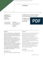 Analgesia Por Medios Físicos en La Patología de La ATM