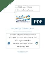 Informe - Lab I - Conociendo Packet Tracer de CISCO