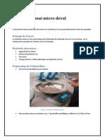 Compte Rendu Micro Deval