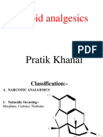 Opoid Analgesics