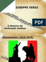 Verdi e a Unificação Italiana