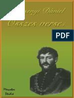 Berzsenyi Daniel Osszes Versei