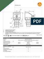 PI2893-00_ES-ES Sensor de Presion Membrana Aflorante