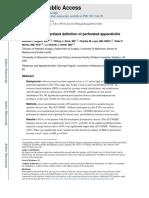 Perforated appendicitis