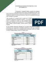 Afectación Económica en Oaxaca Por Sismo Del 19 de Septiembre 2017