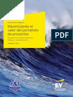 EY Maximizando Valor Portafolios Proyectos