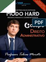#Modo Hard - Direito Administrativo CESPE (2017) - Professor Tobias Morato.pdf