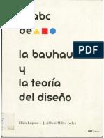El ABC de La Bauhaus y La Teoria Del Diseño